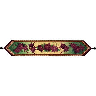 Christmas Flower 72-inch Table Runner