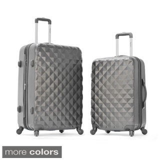 Olympia Yellowstone 2-Piece Hardside Spinner Luggage Set