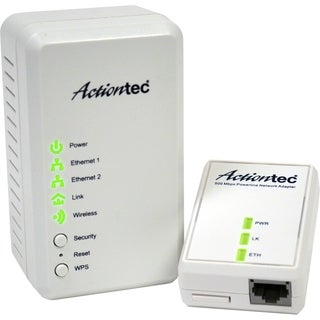 Actiontec Wireless Network Extender + Powerline Network Adapter 500