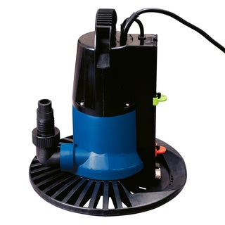Super Dredger 2450 GPH In Ground Winter Cover Pump with Base