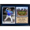 New York Mets Matt Harvey 12 x 18 Double Photo Frame
