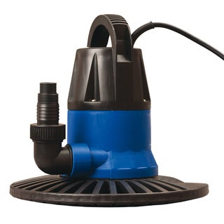 Swim Time Dredger 1250 GPH In Ground Winter Cover Pump with Base