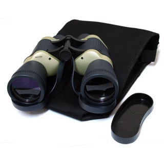 Defender Dark Blue/ Tan Free Focus 30x50 Binoculars