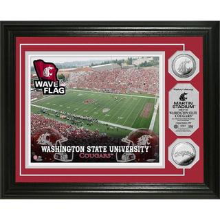 Washington State University Stadium Silver Coin Photo Mint