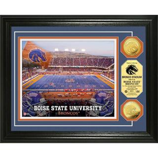 Boise State University Stadium Gold Coin Photo Mint