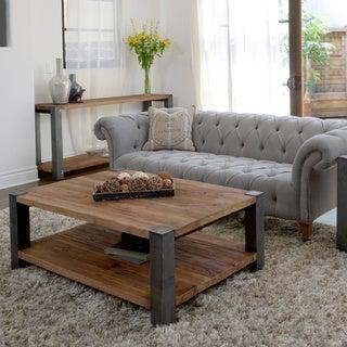 Willow Iron Leg Coffee Table