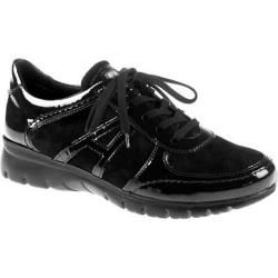Women's ara Noreen 30022 Black Suede/Leather