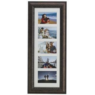 Melannco Bronze 5-opening Matted Collage Frame