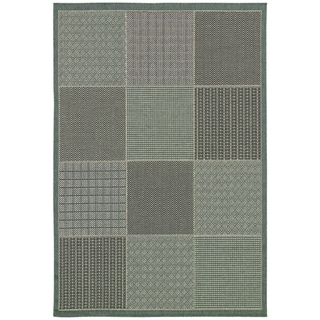 Monaco Vistimar/ Blue-Grey Area Rug (5'10 x 9'2)
