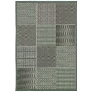 Monaco Vistimar/ Blue-Grey Area Rug (7'6 x 10'9)