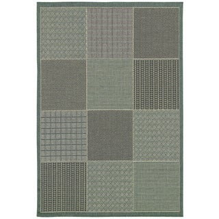 Monaco Vistimar/ Blue-Grey Area Rug (8'6 x 13')