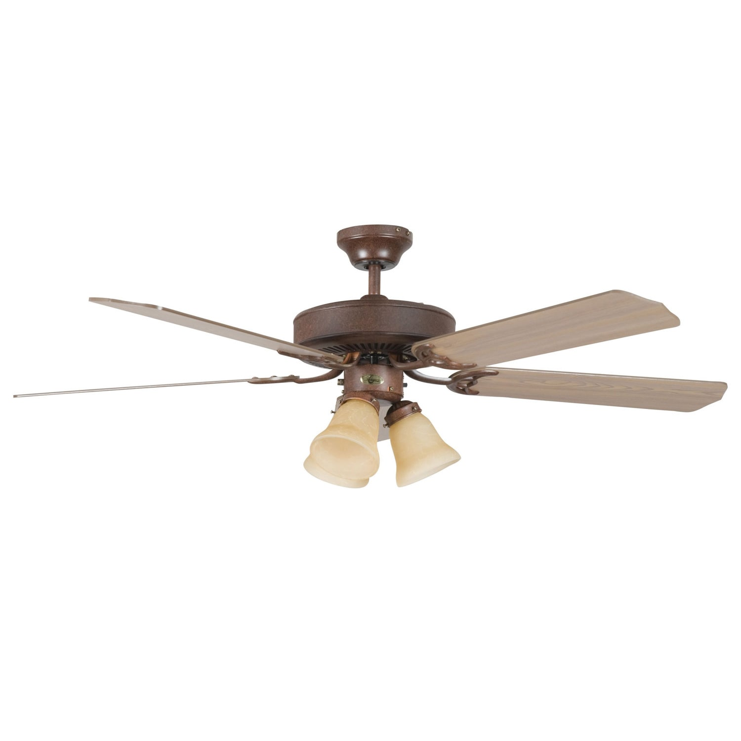 Overstock.com Heritage 52-inch in Rubbed Bronze Ceiling Fan at Sears.com