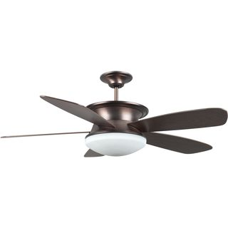 Eurostar 52-inch Rubbed Bronze Ceiling Fan