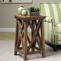 Hand-crafted Mango Wood June Plant Stand(Indonesia)