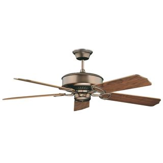 Madison 52-inch Oil Rubbed Bronze Ceiling Fan