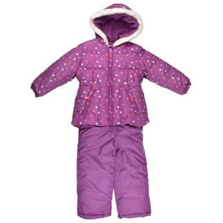Osh Kosh Girl's Faux Fur Trimmed 2-pc Snowsuit