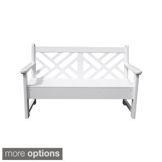 5-foot Chippendale Bench