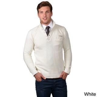 Boston Traveler Men's Ribbed Collar Sweater