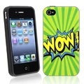 BasAcc Wow TPU Rubber Case for Apple iPhone 4/ 4S