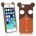 BasAcc Shocking Bear TPU Rubber Case for Apple� iPhone 5/ 5S