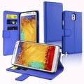 BasAcc Stand Leather Case with Card Slot for Samsung Galaxy Note III