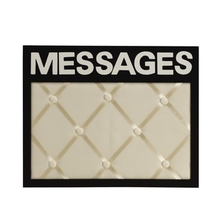 Melannco Messages French Memo Board