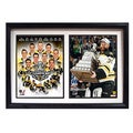 Boston Bruins 2011 Stanley Cup Champions Double Frame