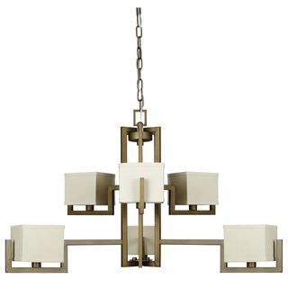 Burnished Brass Akimbo Chandelier