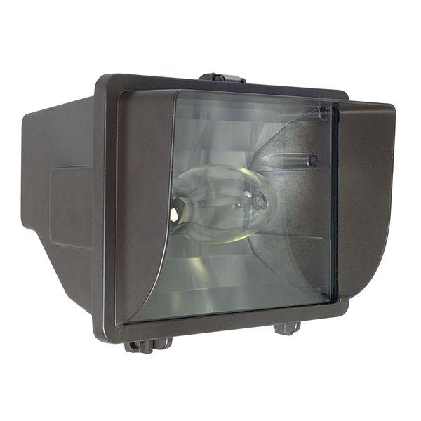 Metal 1-light Bronze Compact Flood Fixture