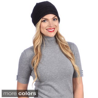 Women's Stretch Textured Extra Long Hat
