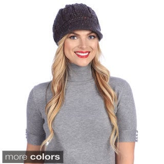 Women's Retro Knit Winter Hat
