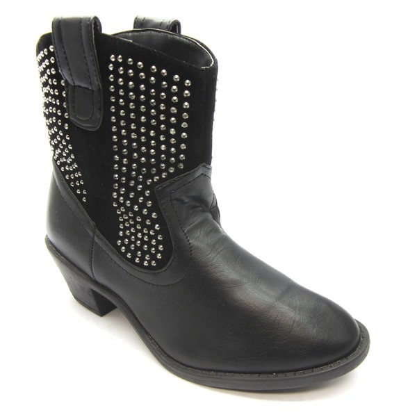 Blue Women's 'Raylan' Studded Western Booties