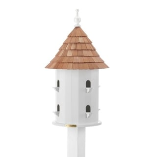 'Lazy Hill' Cedar Roof Bird House