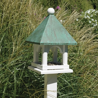 Blue Verde Copper Mini Bird Feeder