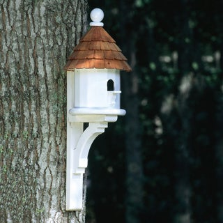 Small Cedar Shingled Bird House