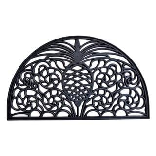 'Pineapple' Semi-circle Outdoor Mat