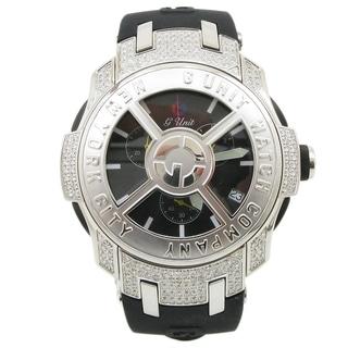 G-Unit Men's Watch by 50 Cent Diamonds with Spinning Rim Bezel
