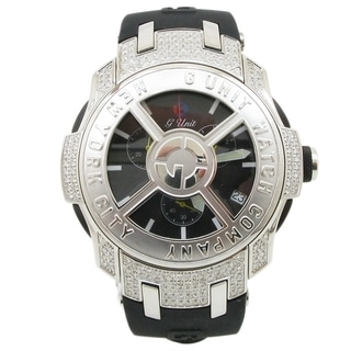 G-Unit Men's Watch by 50 Cent Diamonds with Spinning Rim Bezel