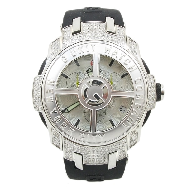 G-Unit Men's Watch by 50 Cent Diamond Spinning Rim Bezel
