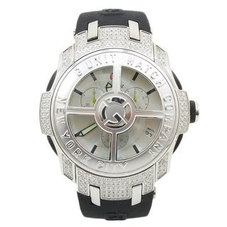 G-Unit Men's Watch by 50 Cent Diamond Spinning Rim Bezel