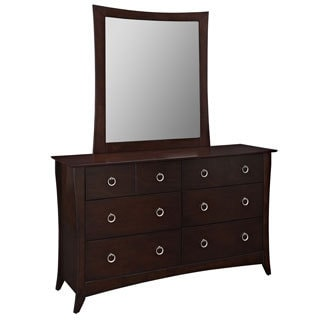 Elizabeth Dresser and Mirror Set