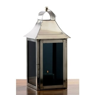 Small Smokey Glass Lantern