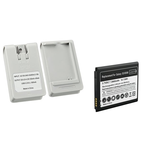 INSTEN Desktop Charger/ Battery for Samsung Galaxy S3 i9300