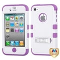 BasAcc TUFF Hybrid Case with Stand for Apple iPhone 4S/ 4