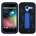 BasAcc Dark Blue/ Black Symbiosis Case for Motorola Moto X