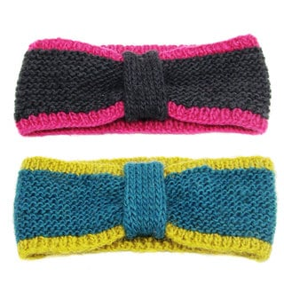 Handwoven Tegan Tipped Headband (Nepal)