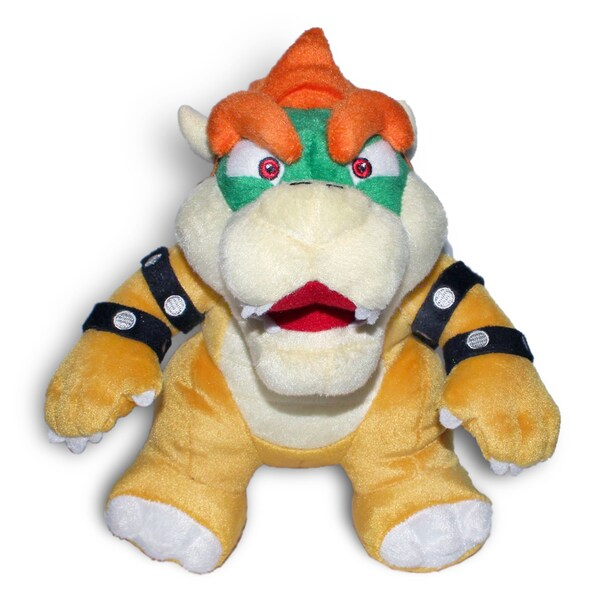 Nintendo Super Mario Brothers 7-inch Bowser Plush Doll 11955767