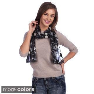 Geometric Printed Lightweight Scarf Assortment (12 scarves)