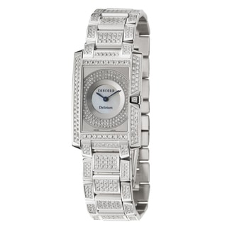 Concord Women's 'Delirium' 18K White-gold Swiss Quartz Watch