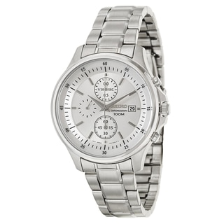 Seiko Men's 'Chronograph' Stainless Steel Chronograph Watch